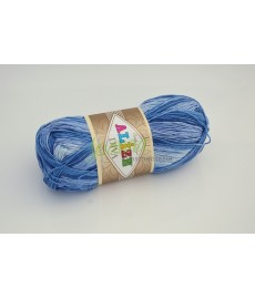 Alize Diva Batik 3282 niebieski melanż