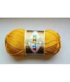 Alize Diva silk effect 488 żółty
