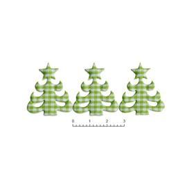 Choinka WZ 96 kratka zielona