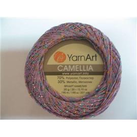 Camellia fiolet/złoto-niebieski