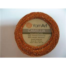 Camellia pomarańczowy/srebrny 421