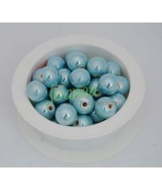 Ceramika kulka 12mm błękit