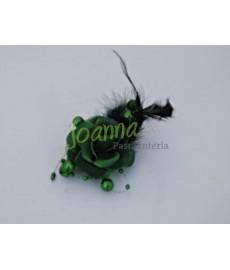 Kwiat z broszką CKB1 zielony