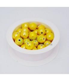 Ceramika kulka 12mm żółty