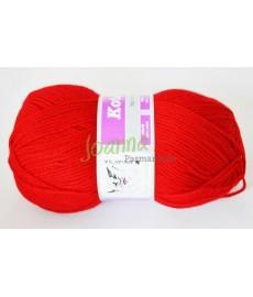 Włóczka  Kotek nr. 4--2224 czerwony