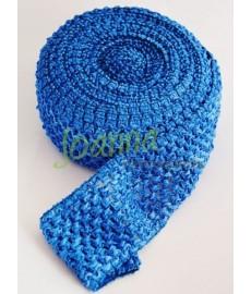Guma ozdobna 075 TUTU szer 7cm niebieski