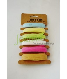 Raffia (6x5 mb) CP100112 mix kolor