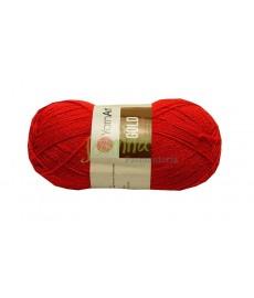 YarnArt Gold kolor 9352 czerwony