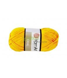 Włóczka IDEAL żółty  228