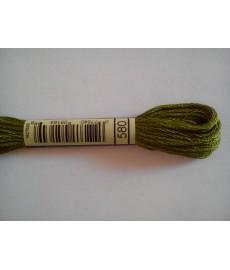Mulina DMC kolor 580