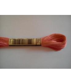 Mulina DMC kolor 760