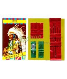 Karnet igieł Indianin