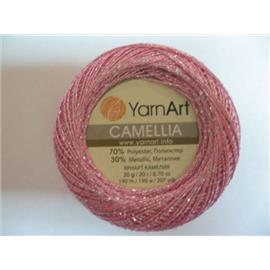 Camellia różowy/srebrny