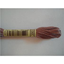 Mulina DMC kolor 3861