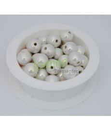 Ceramika kulka 12mm biały