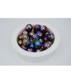 Ceramika kulka 12mm fiolet