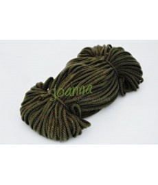 Sznurek bawełniany 3,5 mm kol zielony