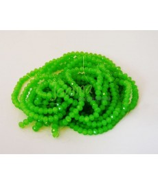 Szkło swarovski SWDY 6mm zielony 100szt sznur