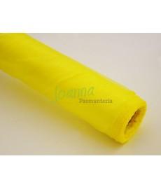 Organza obszywana,żółty 0,38x9m 1szt