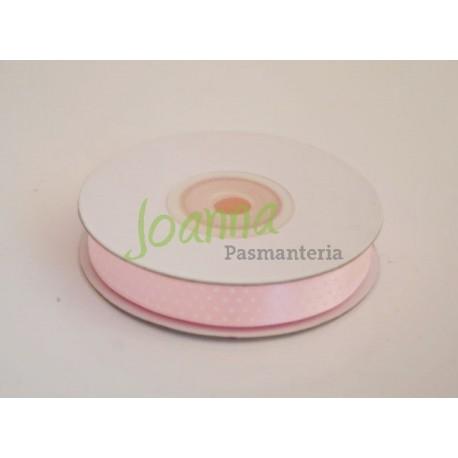 Tasiemka satynowa,j.różowy,12mm/25mmk