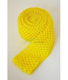 Guma ozdobna 075 TUTU szer 7cm żółty