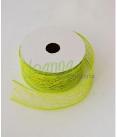 Tasiemka ozdbna 9,1 mb CP100133 zielony
