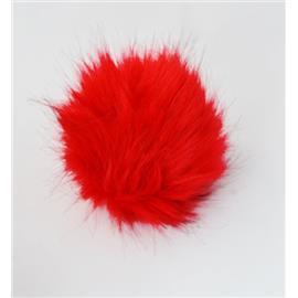 Pompon C1 (10cm) czerwony