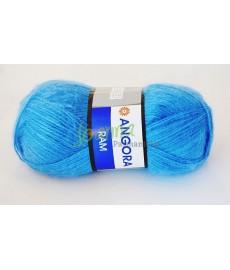 Angora Ram kol 600 błękitny