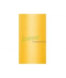 Tiul gładki, żółty 0,15x9m 1szt