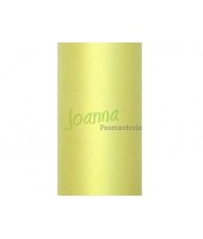 Tiul gładki,j.żółty 0,15x9m 1szt