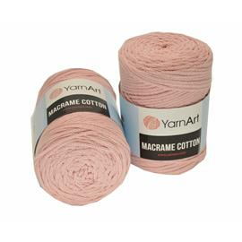 Włóczka MACRAME COTTON 762 j. róż 3mm