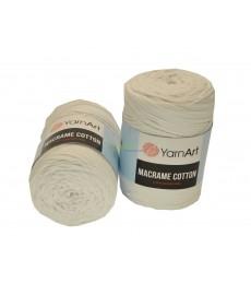 Włóczka MACRAME COTTON 751 biały 3mm