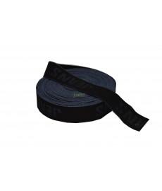 Guma ozdobna 179(4cm) czarna JEANS