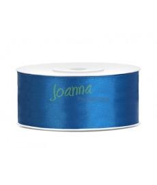 Tasiemka satynowa,niebieski,25mm/25m