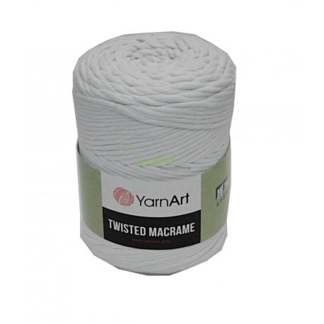 Włóczka Twistet Macrame 751 biały Yarn Art